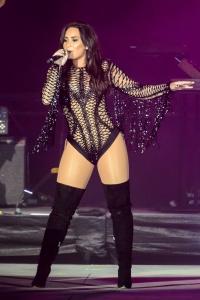 Demi Lovato - Performing at Redfestdxb Festival in Dubai - February 4th 2017