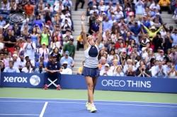 Flavia Pennetta - 2015 US Open Day Thirteen: Women's Singles Finals vs. Roberta Vinci @ BJK National Tennis Center in Flushing Meadows - 09/12/15