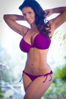 Дениз Милани, фото 5686. Denise Milani Purple Bikini 2012 :, foto 5686