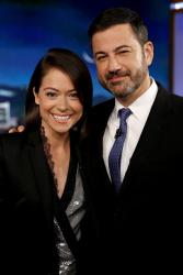 Tatiana Maslany - Jimmy Kimmel Live: June 21st 2017