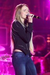 Danielle Bradbery - Hunter Hayes 2nd Annual CMA Awards Week Street Party @ the Bridgestone Arena Plaza in Nashville - 11/02/15