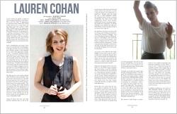 abmL9LUX Lauren Cohan – Ladygunn Magazine (November 2012) photoshoots