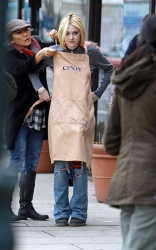 Dakota Fanning - on the set of 'Every Secret Thing' in NYC 4/17/13