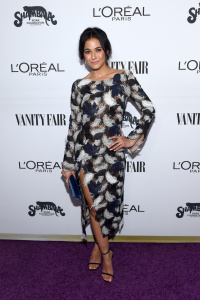 Emmanuelle Chriqui - Vanity Fair and L'Oreal Paris Toast to Young Hollywood at Delilah in West Hollywood - February 21st 2017
