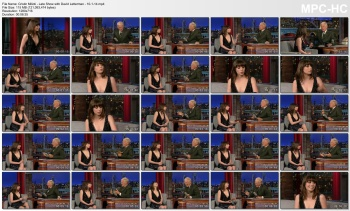 Cristin Milioti - Late Show with David Letterman - 10-1-14