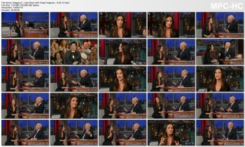 Maggie Q - Late Show with David Letterman - 9-30-14