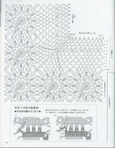 Схема вязания крючком японские журналы 14