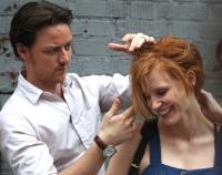 Джессика Честейн, фото 2257. Jessica Chastain On the set of 'The Disappearance of Eleanor Rigby' in New York City - July 13, 2012, foto 2257