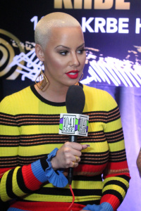 Amber Rose - Westwood One Backstage At The Grammys, Staple's Center - February 9th 2017
