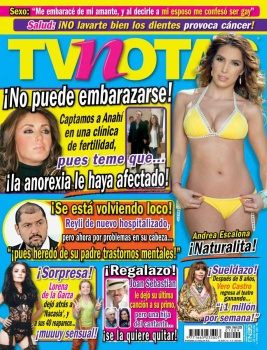 Revista TV Notas México 26 Abril 2016