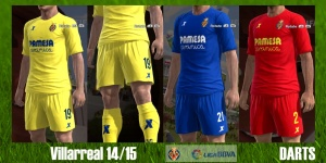 Download Villarreal Club de Fútbol kits by DARTS