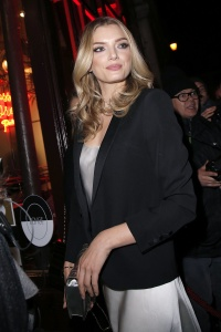 Lily Donaldson - Seen at the L'Oreal Dinner at Le Grand Colbert During Paris Fashion Week - March 5th 2017