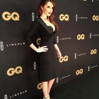 Dulce Maria at 'Premios GQ Hombres del Ano 2015' in Mexico City - November 04 2015