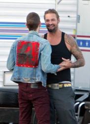 Josh Holloway & Sean Astin - Stay Cool Set - 29xHQ VtQK0cKd