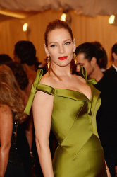 Uma Thurman - 2013 Met Gala in NYC 5/6/13