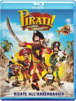 Pirati! Briganti da strapazzo (2012) .mkv HD 720p HEVC x265 AC3 ITA-ENG