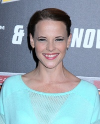 Katie Leclerc - Back To The Future New York Special Anniversary Screening @ AMC Loews Lincoln Square in NYC - 10/21/15