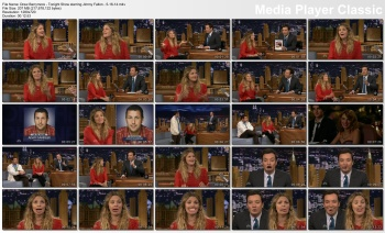Drew Barrymore - Tonight Show starring Jimmy Fallon - 5-16-14