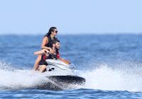 Nina Dobrev with her boyfriend Austin Stowell in Saint-Tropez (July 24) 61X27JYf