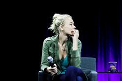 Yvonne Strahovski @ 2015 San Diego Con - Nerd HQ Badass Women Panel - 07/10/15