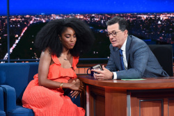 Jessica Williams - The Late Show with Stephen Colbert: July 25th 2017