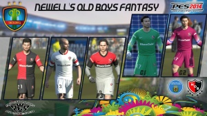Download PES 2014 Newell's Old Boys Fantasy Nike Kits