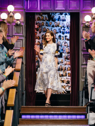 Amanda Peet - The Late Late Show with James Corden: April 25th 2017