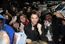 Ian Somerhalder - Arriving at Live with Kelly and Michael in NYC (March 13, 2013) - 18xHQ MD6fNyhO