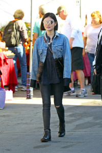 Lucy Hale - At A Flea Market in Los Angeles - February 19th 2017