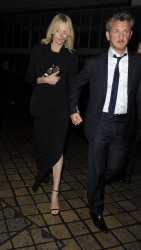 Sean Penn - Charlize Theron and Sean Penn - seen leaving Royal Festival Hall. London - February 16, 2015 (153xHQ) ClOV3loc