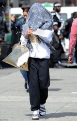 Amanda Bynes - out in NYC 4/20/13