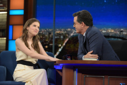 Anna Kendrick - The Late Show with Stephen Colbert: November 15th 2016