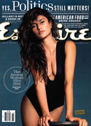 Penelope Cruz x4 Esquire (US) November, 2014