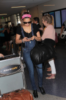 Nina Dobrev at LAX Airport (March 27) HIuAXZCQ