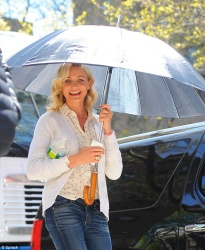 Cameron Diaz - on the set of 'The Other Woman' in NYC 4/25/13