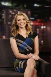 Natalie Dormer - Jimmy Kimmel Live: January 5th 2016