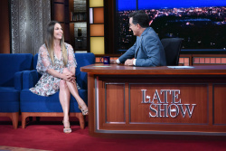 Sutton Foster - The Late Show with Stephen Colbert: July 26th 2017