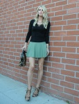 Nicky Hilton is seen out in a green mini-skirt in Beverly Hills - October 22-2015 x29