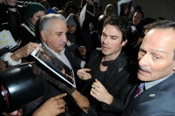 Ian Somerhalder - Arriving at Live with Kelly and Michael in NYC (March 13, 2013) - 18xHQ No0IglXx