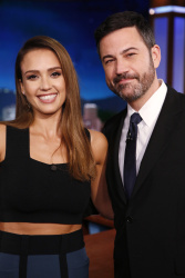Jessica Alba - Jimmy Kimmel Live: March 7th 2017