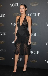 Bella Hadid - Paris Fashion Week Spring/Summer 2016: Vogue 95th Anniversary Party Photocall @ 51 Avenue d'Iena in Paris - 10/03/15