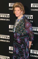 Agnes Gund - Pirelli Calendar 2016 Gala Evening @ The Roundhouse in London - 11/30/15