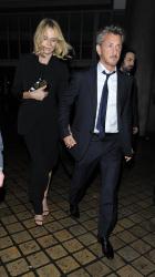 Sean Penn - Charlize Theron and Sean Penn - seen leaving Royal Festival Hall. London - February 16, 2015 (153xHQ) FB9TVXBU
