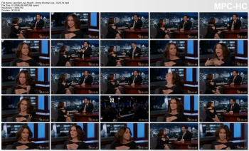 Jennifer Love Hewitt - Jimmy Kimmel Live - 9-29-14 (cleavage)