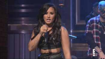 Cheat Codes Ft Demi Lovato - [No Promises] Jimmy Fallon 22nd May 2017 1080i HDMania
