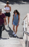 Ashley Greene - In a short dress out in Sydney 12/27/16