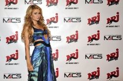 Paris Hilton At NRJ DJ Awards In Monaco 12-11-2014