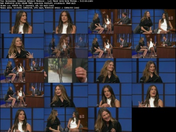 Alessandra Ambrosio & Behati Prinsloo - Late Night with Seth Meyers - 3-17-14 (double leggage!)