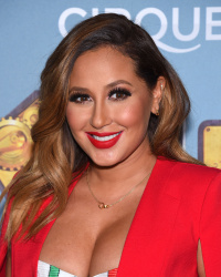 Adrienne Bailon - Opening Night of Cirque Du Soleil's KURIOS - Cabinet of Curiosities @ Dodger Stadium in Los Angeles - 12/09/15