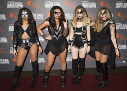 Little Mix - KISS FM Haunted House Party @ SSE Arena in London - 10/29/15